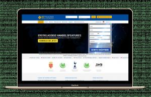 EZTrader - Startseite-und-Handelsplattform