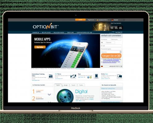 OptionBit-Startseite-und-Handelsplattform