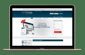 TopOption-Startseite-und-Handelsplattform