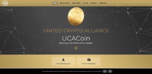 UCA Coin Website